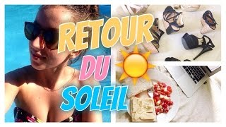 🌈 Retour Du Soleil | #Emmaanyvlog | #71