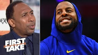 Andre Iguodala would give the Lakers a title edge over the Clippers – Stephen A. | First Take