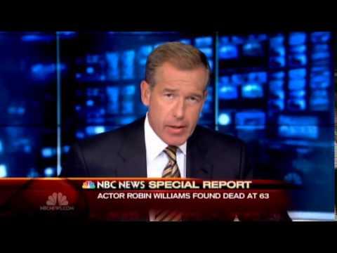 NBC News: Robin Williams Dead (8/11/2014)