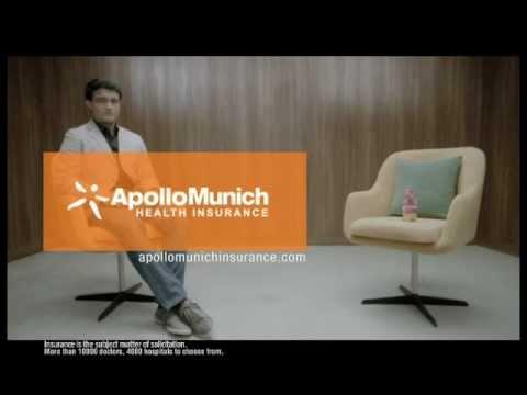 Apollo Munich Health Insurance Ads ft. Saurav...