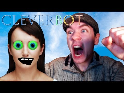 Cleverbot   Slightly Drunk Conversations With Evie video