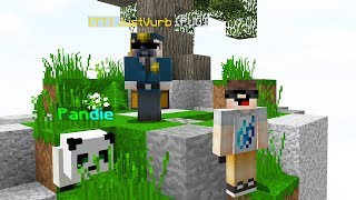 TWO YOUTUBERs vs HYPIXEL SKYWARS... (Minecraft)