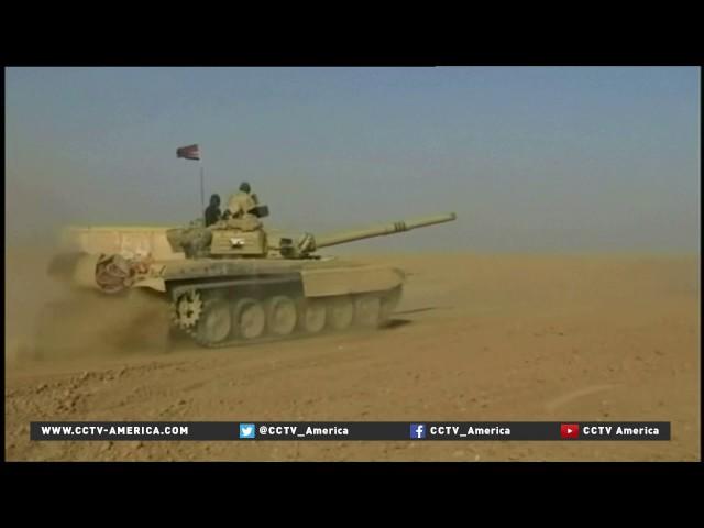 Iraq's Shiite militia fighters join Mosul operation