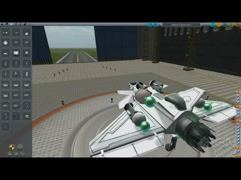 Make an Attack Fighter in Kerbal Space Program - IGN Plays