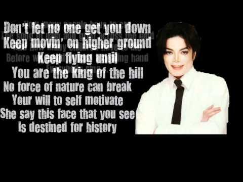 Michael Jackson - History. (lyrics). video