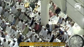 تلاوة مؤثرة لآخر سورة المؤمنون صلاة العشاء الجمعة 22-5-1436 : الشيخ ماهر المعيقلي