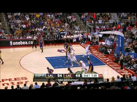 [HD] Kobe Bryant 31 Points vs Los Angeles Clippers - Highlights 04/04/2012