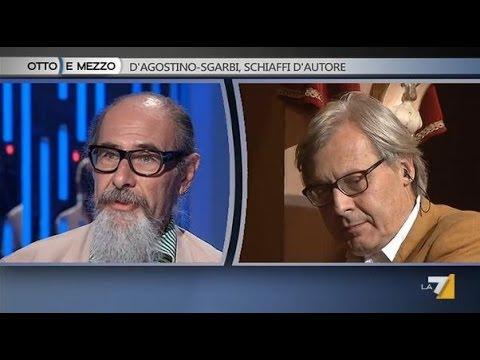 Otto e mezzo - D'Agostino - Sgarbi, schiaffi d'autore (Puntata 23/06/2014)