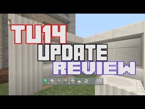Minecraft TU14 Update Review for Xbox 360