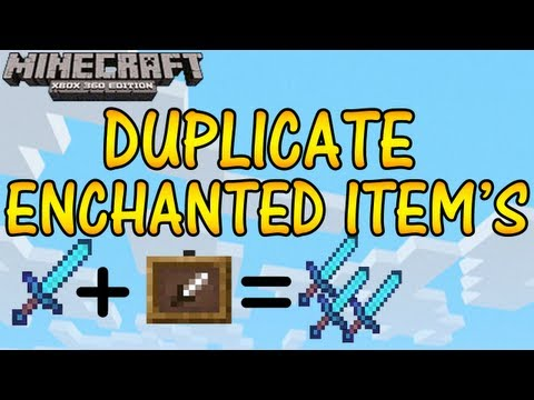 how to make enchanted books in minecraft xbox
