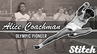 Alice Coachman, the first African-American woman to win an Olympic gold medal