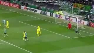 Sporting 3 - 1 Astana Fernandes Goal