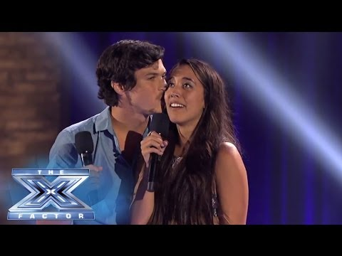 Alex & Sierra Knows Grease Is The Word - The X Factor Usa 2013 video