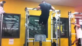 NO MOMENTUM SLOW MUSCLE UP (NO FALSE GRIP)