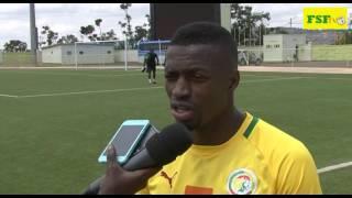 Eliminatoires Can 2017 | Pape Kouly Diop, première séance d'entraînement des Lions à Kigali