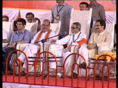 Balasaheb Thackeray Speech : Dasara Melava 2010 - Part 1