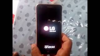 Hard reset LG K10 NOVO 2017