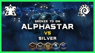 Supply Domination! AlphaStar Bronze to GM Ep1 [TvZ] Deepmind A.I. Starcraft 2