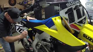2018 RMZ450 Graphics timelapse