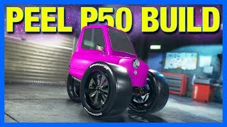 Subscribers Build a Monster Truck Peel P50 in Car Mechanic Simulator