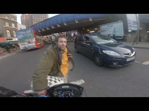 UK Bikers, Road Rage, Angry Drivers, Crazy People #51