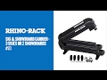 #573 - Ski and Snowboard Carrier - 3 skis or 2 snowboards | Rhino-Rack