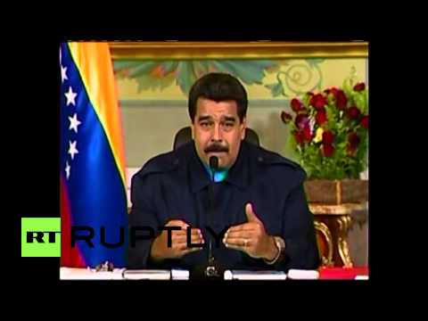"Venezuela: ""U.S. sanctions seek to topple government""- Maduro"