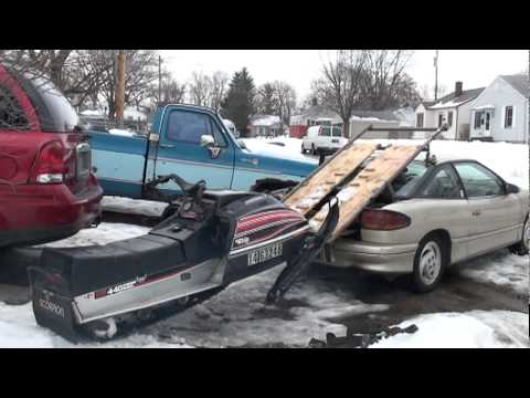 Saturn Snowmobile Transporter Part 2 Youtube