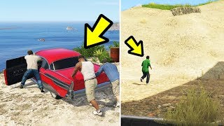GTA 5 - Where does Lamar go in the Final Mission?