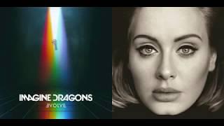 Download Lagu Send My Thunder (Mashup) - Imagine Dragons & Adele Gratis STAFABAND