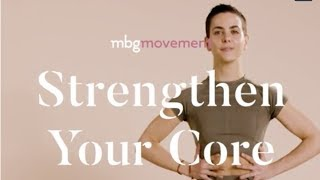 How To Strengthen Your Core + Abs With Bethany C. Meyers