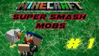 Minecraft Minigames | Super Smash Mobs | Fried Chicken Time!