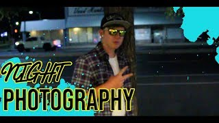 Night Photography//Vlog 6