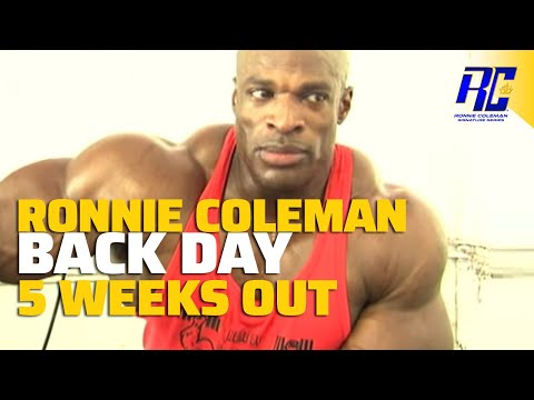 A Day In The Life Of Ronnie Coleman- Back Day video