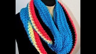 Crochet Scarves by Africancrab