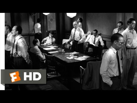 12 Angry Men (8/10) Movie CLIP - These People (1957) HD