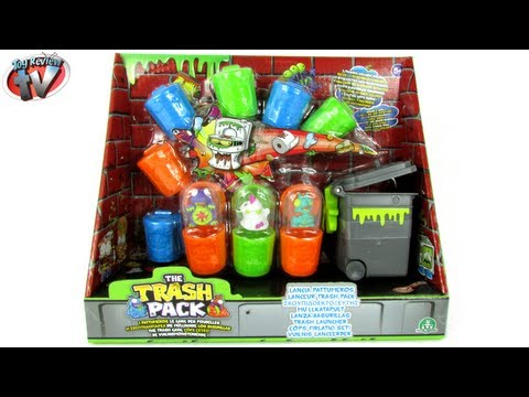 The Trash Pack: Trash Launcher Set Toy Review. Moose