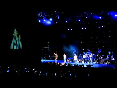 westlife 西城男孩  you raise me up (In Taiwan 台灣)