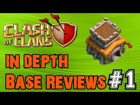 Clash of Clans: In Depth Base Reviews! Ep.1   High-Level Townhall 8
