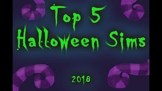 Top 5 Halloween Second life Sims 2018