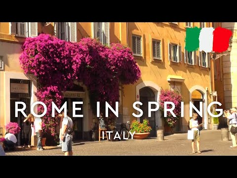 Spring in Rome, Italy