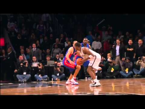 Brooklyn Nets Joe Johnson 2OT Game Winner Vs Detroit Pistons 12.14.12