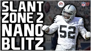 Madden 17: UNBLOCKABLE 4 Man Edge Heat!! Big Dime 2-3-6 - Slant Zone 2! Easy Nano Blitz!