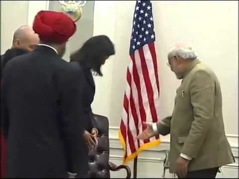 PM Narendra Modi meets Governor of South Carolina Nikki Haley