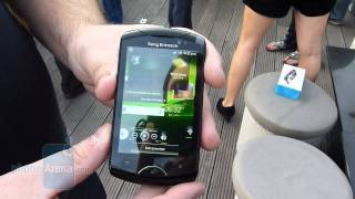 Sony Ericsson Live with Walkman Demonstration