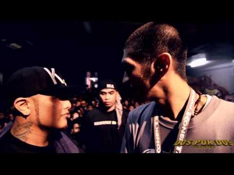 FlipTop - Apoc/Dhictah vs Juan Lazy/Harlem @ Dos Por Dos Tournament
