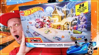 HOT WHEELS ADVENTSKALENDER 2018 Unboxing