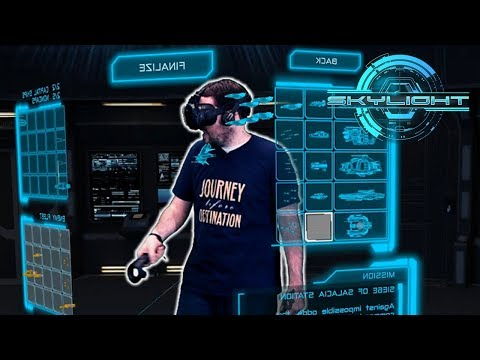 First VR Strategy Game I've enjoyed! - Skylight on the HTC Vive