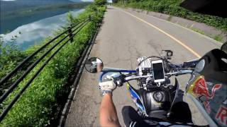 WR250X Red Bull Custom西湖湖畔Ride GoproHERO3+(^_^)v