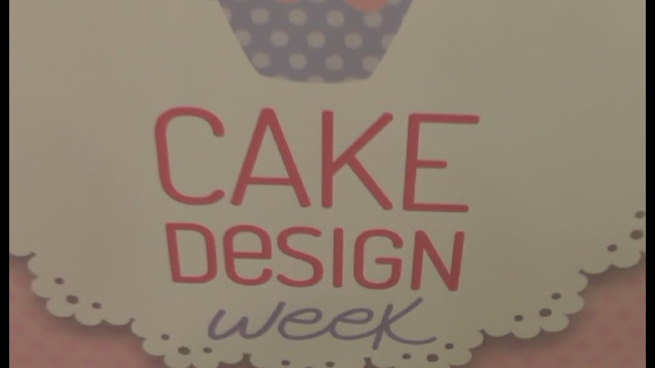 Cake Design Napoli : Napoli - Cake Design week -1- (19.04.13) - YouTube
